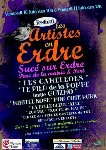 Festival ARTISTES EN ERDRE 2011