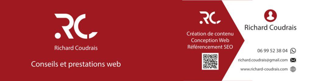 Richard Coudrais, conseils et prestations web